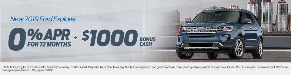 Ford Lease Specials Finance Offers In Sanford Fl