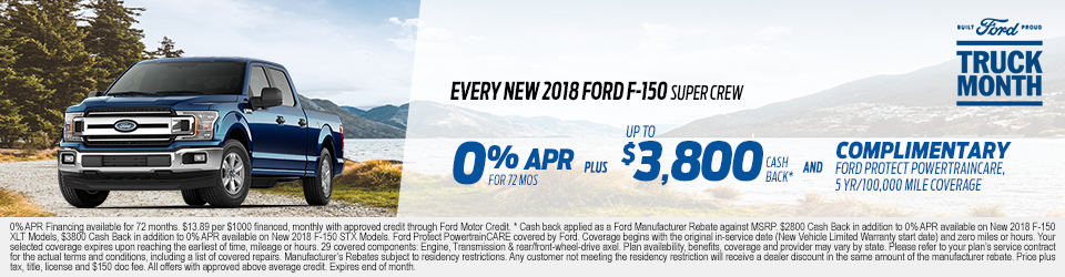 Ford Lease Specials Finance Offers