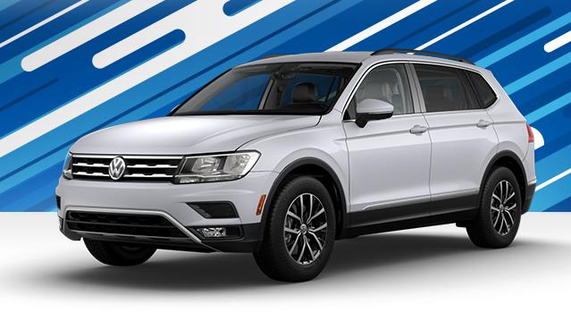 New 2018 Volkswagen Tiguan SE