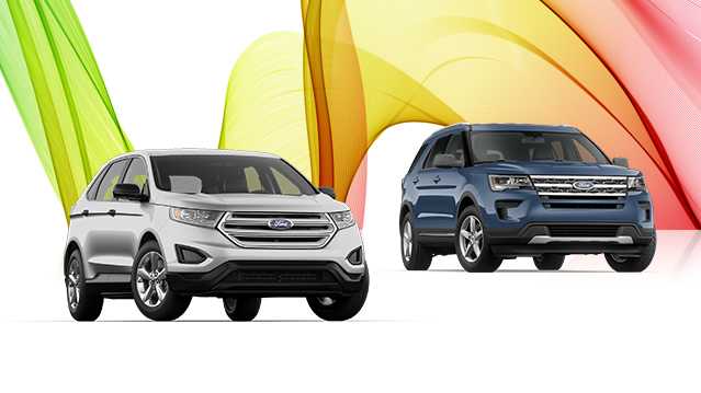 New  Ford Edge Or New  Ford Explorer Finance For