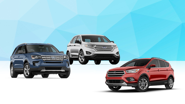 New  Ford Escape Edge And Explorer Finance For